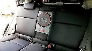"Cerwin Vega VPAS12 250 Watt RMS Slim Powered Enclosure 12/"" Under Seat Subwoofer"