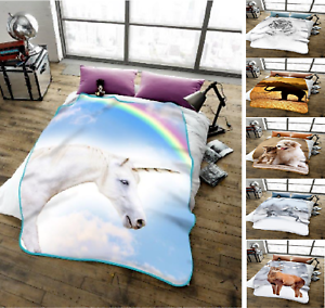 Nueva-Luz-3D-Animal-Printed-lanza-Manta-Polar-Calido-Y-Confortable-Cama-Sofa-lanza
