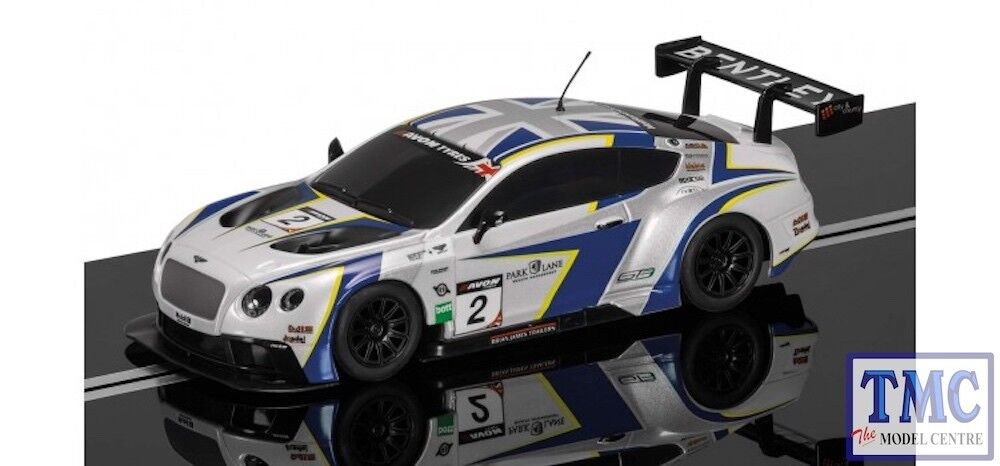 C3515 Scalextric 1 32 Scale Bentley CONTINENTAL Gt3 Generation Racing (Preowned)