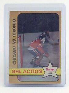 1972-73-Chicago-VS-Toronto-Tony-Esposito-196-OPC-O-Pee-Chee-Hockey-Card-I677