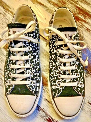 Top Black Cool Low da da Taglia Scarpe White All ginnastica ginnastica Uk7 Converse Scarpe Stars Stampa r0wxgdqSw