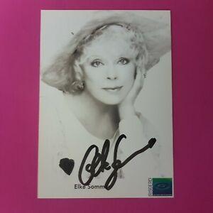 Elke-Sommer-Original-signierte-Autogrammkarte-handsigniert-TOP