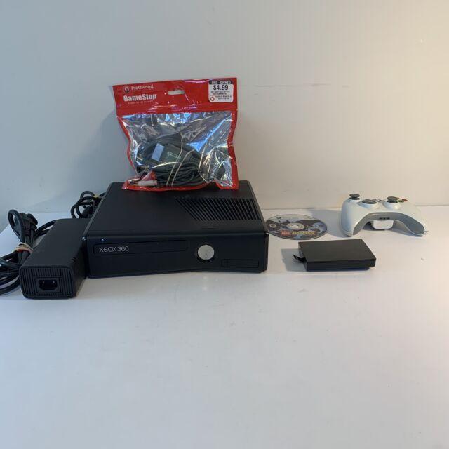 Microsoft Xbox 360 S Slim Black Console with AV ...