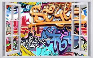 Graffiti Kunst Abstrakt Wandtattoo Wandsticker Wandaufkleber F0487 Ebay