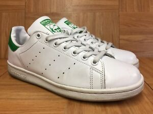 Details about RARE?? Adidas Stan Smith Cloud White Fairway Green Leather Shoes Sz 8.5 M20324