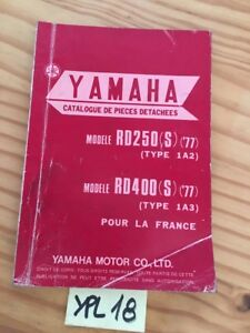 Details about Yamaha RD250 S 1977 1A2 RD400 1A3 RD catalogue spare parts  parts list motorrad