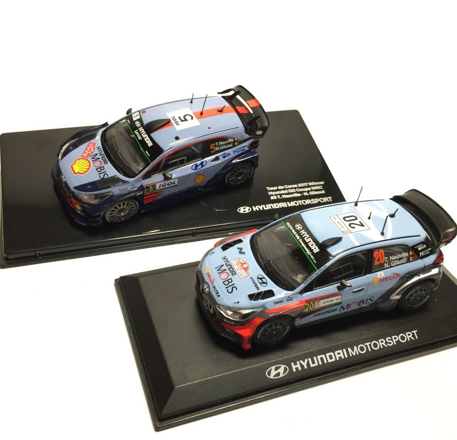 Hyundai i20 Coupe WRC 1 43 Rally Winner 2016 1ea, 2017 1ea - Thierry Neuville