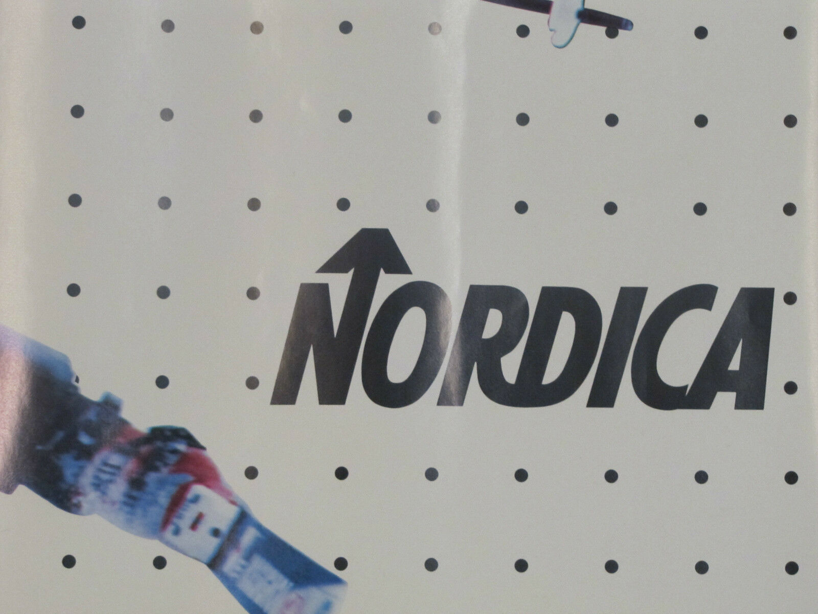 Vintage SKIING Poster- NORDICA