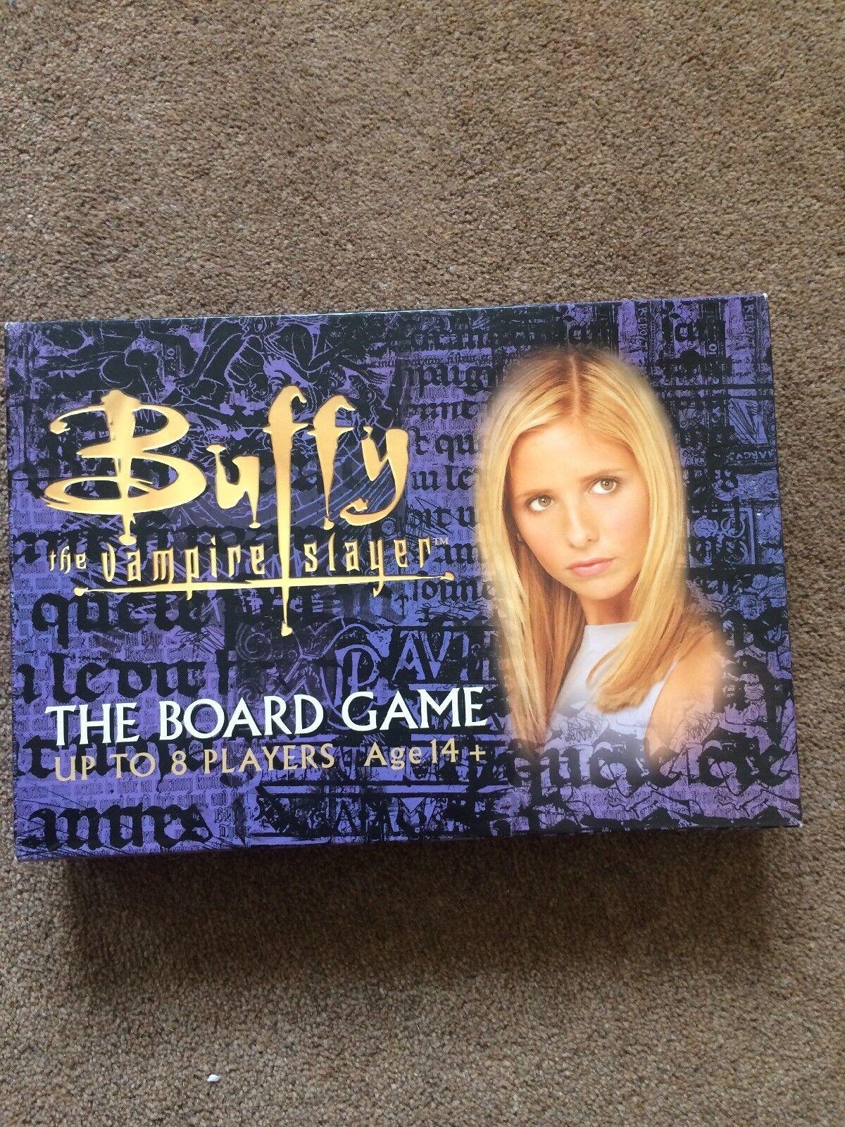 Buffy the Vampire Slayer Board Game Age 14+