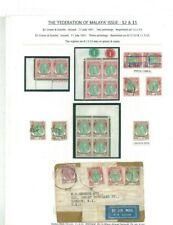 Federation of Malaya Issue - Kelantan - High Value - $2 & $5 Exhibition Piece