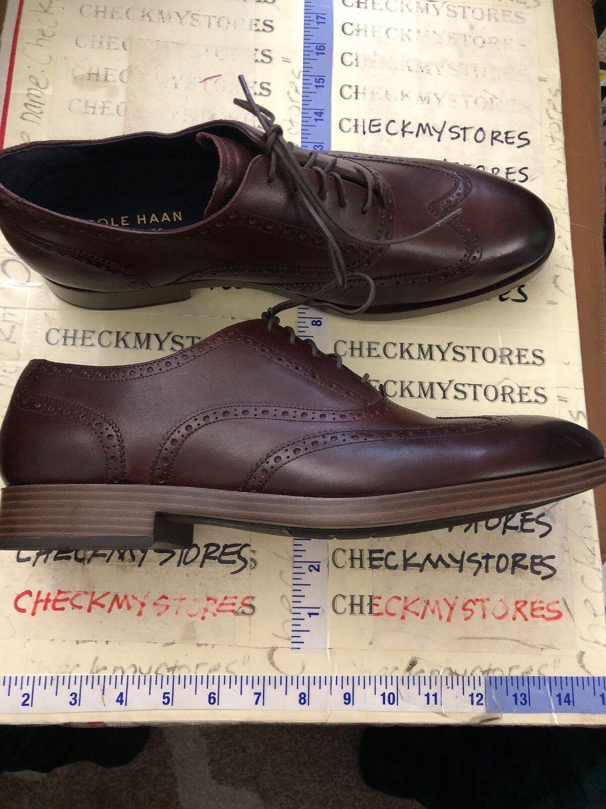 nuova esclusiva di fascia alta NEW  Cole Cole Cole Haan C26671 Uomo  Plain Ox Oxford  LEATHER scarpe SZ11.5  prezzo più economico