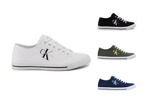 Scarpe-da-uomo-Calvin-Klein-Jeans-AURELIO-B4S0670-sneaker-in-tela-casual-estive