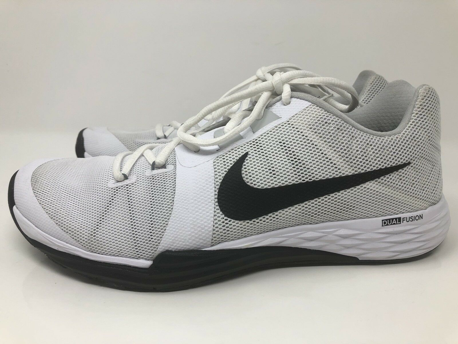 Wild casual shoes Nike Dual Fusion Run 3 White Black New Comfortable