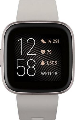 Fitbit Versa 2 NFC Fitness Tracker Smartwatch Heart Rate Grey Aluminum