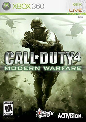 Call Of Duty 4: Modern Warfare (Xbox 360 Game) *VERY GOOD CONDITION*