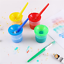 VEYLIN-4-Pieces-Paint-Brushes-and-4-pieces-Paint-Pot-with-Lids-Kids-Children thumbnail 5