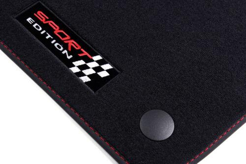 2002-2009 Sport Auto Fußmatten für Mercedes E-Klasse W211 bj