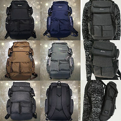 Korea Fashion Black Label 2 Backpack School Travel Business Bag Polyester Unisex