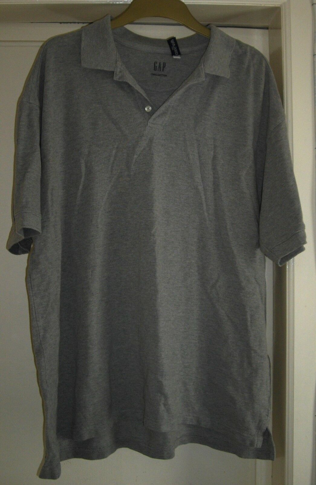 Gris Homme Polo Gap Shirt Xl Taille UnFHqO0