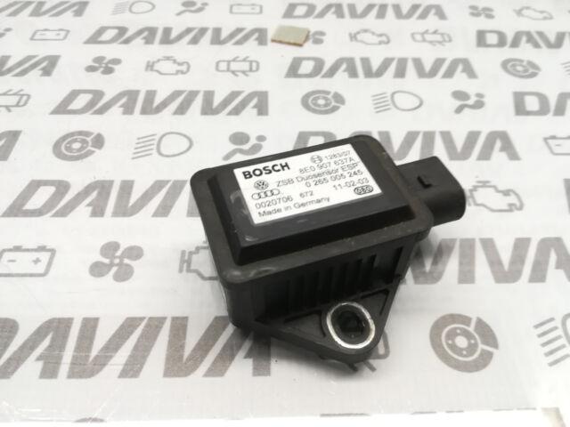 Audi A4 A6 A8 Turn Rate YAW ESP Accelerator Sensor 8E0907637A 0265005245