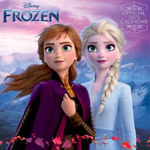Frozen Calendar 2022 Official Disney 30X30 cm *FAST UK DISPATCH*