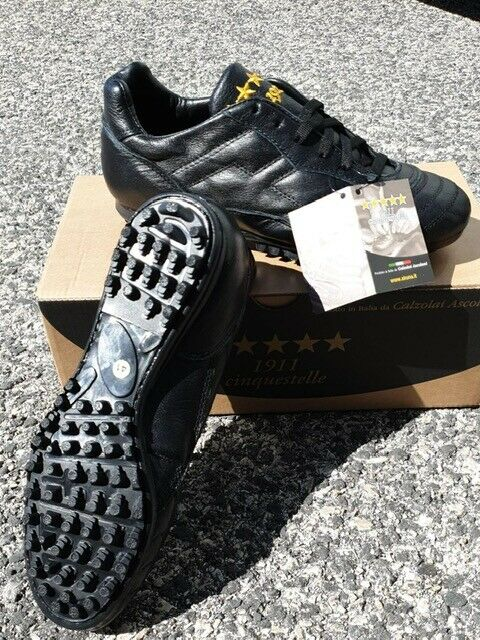 Akuna 5 Stars Bull SHOES Cleats Soccer Genuine Leather Made in