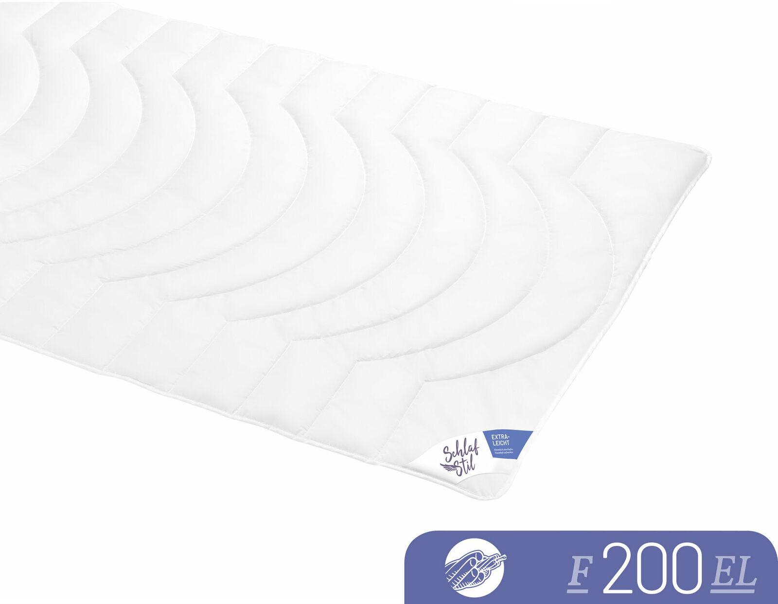 Schlafstil Leichtsteppbett F200 3D-Hohlfaser