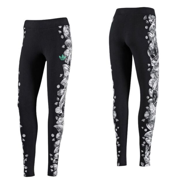 1475c704def nwt~Adidas GRAPHIC DIAMOND LEGGINGS Tight Yoga Running Pant workout~Women  size M
