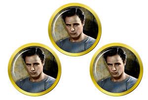 Marlon-Brando-Marqueurs-de-Balles-de-Golf