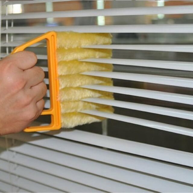Microwave Cleaner Venetian Blind Cleaner Air Conditioner Duster Cleaning Brush T