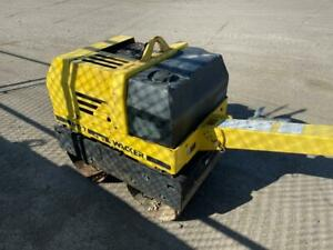 Wacker RD7H-ES walk-behind vibratory double smooth drum roller - Diesel Canada Preview