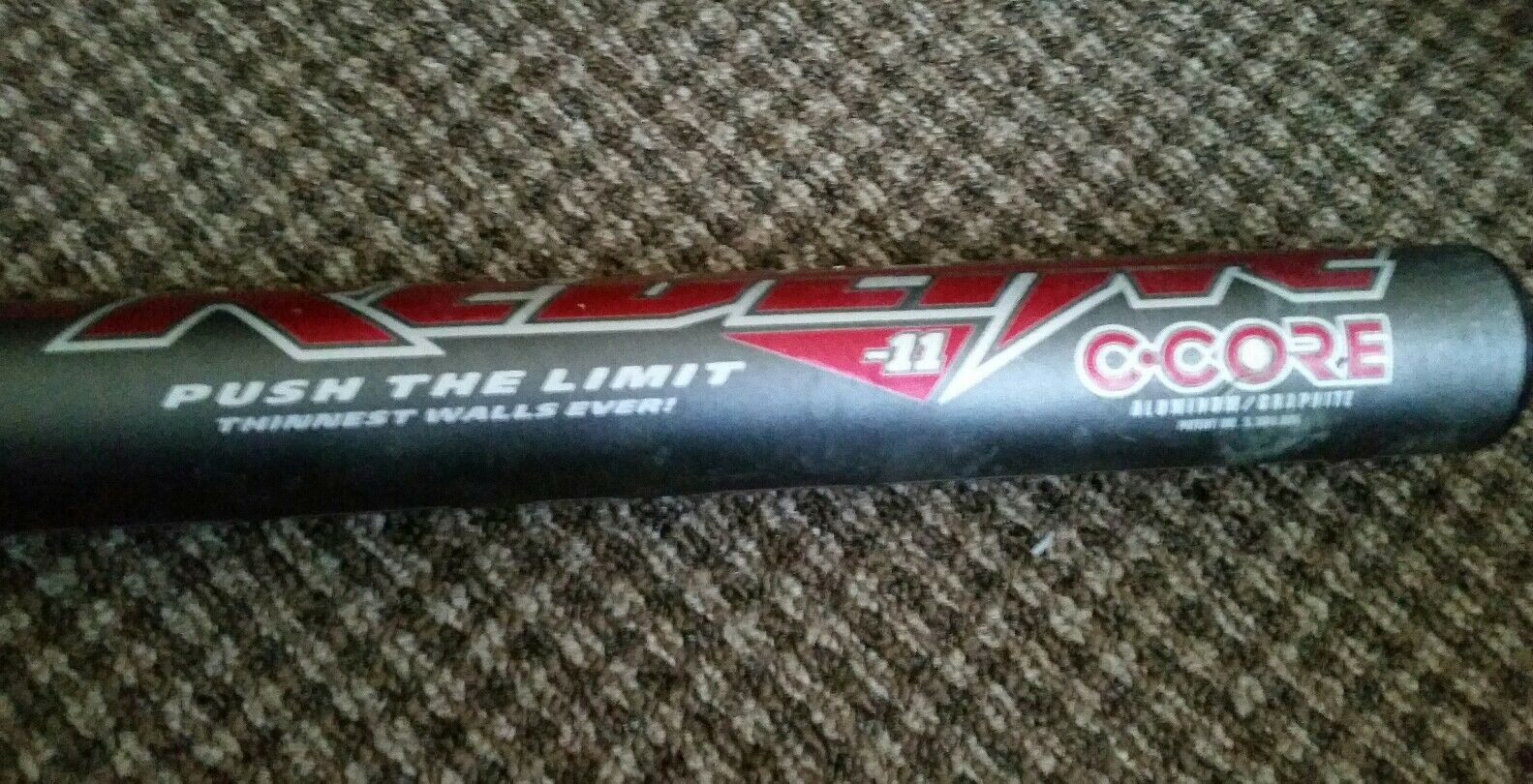 Easton de Redline C-Core escandio Softbol bate de Easton pared delgada 33 in (approx. 83.82 cm). -11/22 OZ (approx. 623.68 g). 70635b