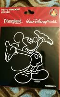Disney Parks Mickey Mouse Car Decal Auto Window Sticker Cling NEW
