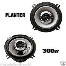 coppia altoparlanti audio casse auto 13 cm 300w suono hd planter 130mm 2 vie