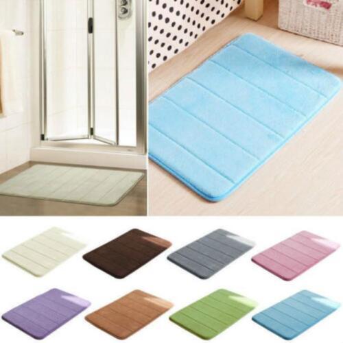 Home Bathroom  NonSlip Durable Memory Foam Carpet Rug Pad Mat Slow Rebound Mat S