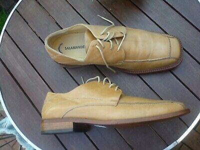 SALAMANDER Schuhe Gr. 46 G = 11 12 G hellbraun