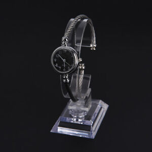 wrist-watch-display-rack-holder-sale-show-case-stand-tool-clear-plastic-YR