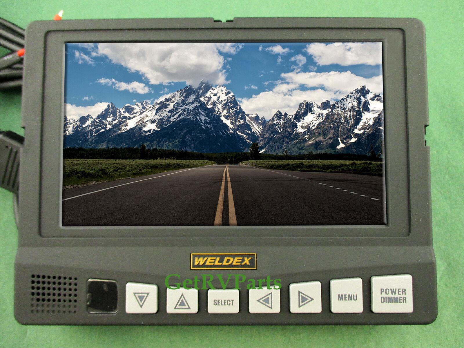 weldex wiring diagram weldex wdrv 7041m upm rear view lcd color monitor 7  for sale  weldex wdrv 7041m upm rear view lcd