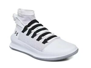 Adepto dulce pasos  Mens Under Armour M TAG 3020616 100 White Lace Up Basketball Trainers | eBay