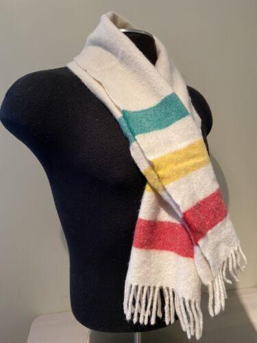 Vintage Polo Ralph Lauren Lambs Wool Scarf - Hudso