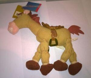 Disney-Store-Toy-Story-2-Bullseye-Mini-Bean-Bag-Horse-Woody-039-s-Horse-With-Tags