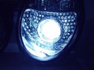 Mercedes CLK C208 Blue 5-LED Xenon Bright Side Light Beam Bulbs Pair Upgrade