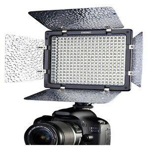 US-YONGNUO-YN300-II-LED-Video-Camera-Light-Color-Temperature-Adjustable-Dimming