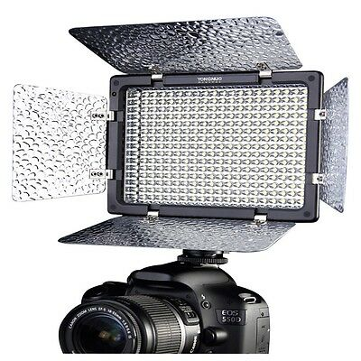 US YONGNUO YN300-II LED Video Camera Light Color Temperature Adjustable Dimming