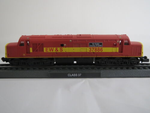 EW /& s Sir Gwent County of dayfed 1:160 in plastica richiudibile STAND Modello Class 37