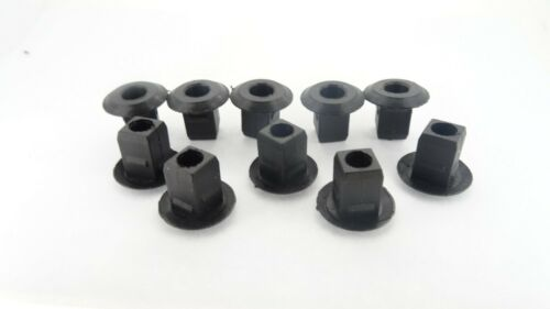 NISSAN CAR ENGINE HEADLIGHT BATTERY COVER TRIM SQUARE HOLE RETAINER CLIPS