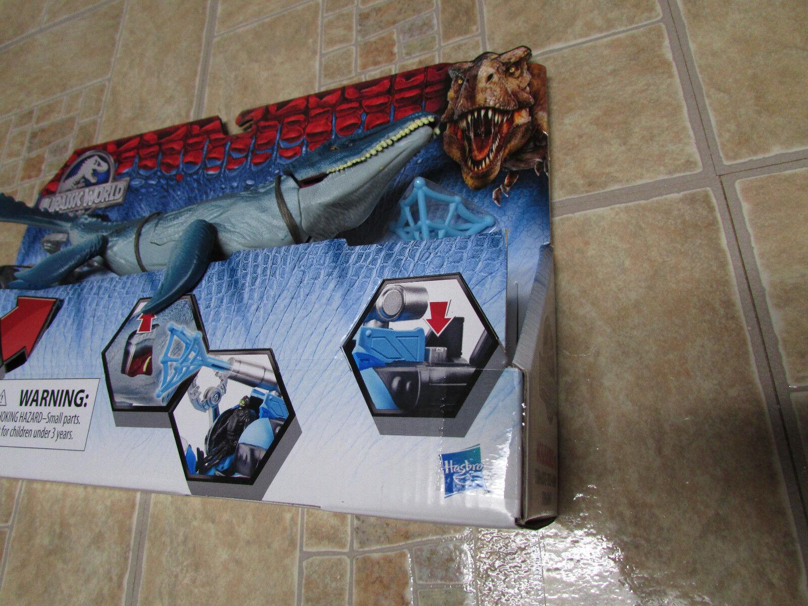 Jurassic World MOSASAURUS vs submarino único