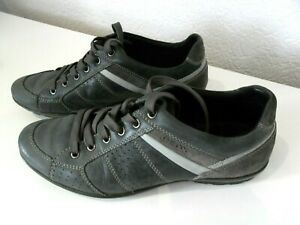 GEOX-AIR-CHAUSSURE-BASKET-SNEAKERS-SHOE-SIZE-44-CUIR-Made-in-Italy-U-42A5A-44