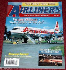 Airliners 63 Vickers Viscount,Convair 880,Carib Air Beech 18,Boeing 717