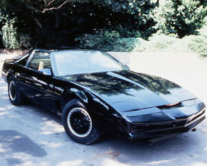 Image Is Loading Knight Rider 8x10 Photo Pontiac Trans Am Kitt